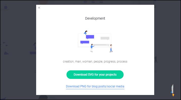unDraw免費SVG素材下載網站3