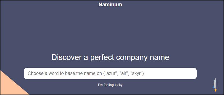 Naminum公司名稱命名1
