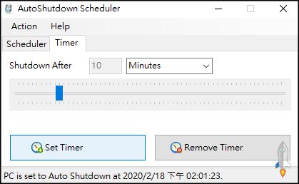 AutoShutdown電腦自動開關機3