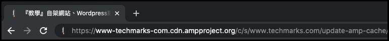 如何更新清理 AMP Cache快取2